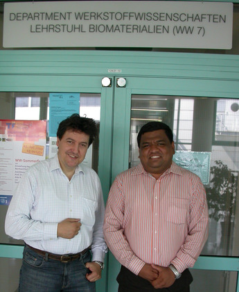 "Towards entry ""Prof. Bikramjit Basu (ITT Kampur, India) visits our Institute"""