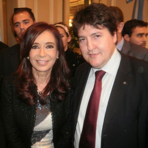 "Towards entry ""Prof. Boccaccini attends meeting in Berlin with the president of Argentina, Mrs Cristina Fernandez de Kirchner"""