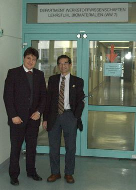 "Towards entry ""Visit of Prof. H. Jain, Director of the International Materials Institute for New Functionality in Glass (USA)"""