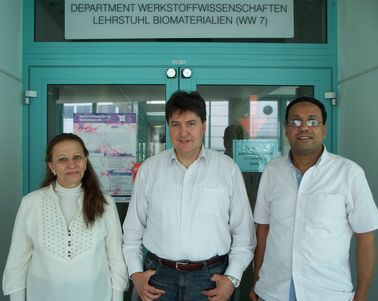 "Towards entry ""Researchers from the National Research Centre (Cairo, Egypt) visited our Institute"""