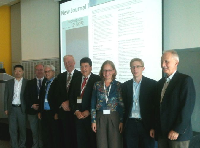 "Towards entry """"BIOMEDICAL GLASSES"": Launch of new journal"""