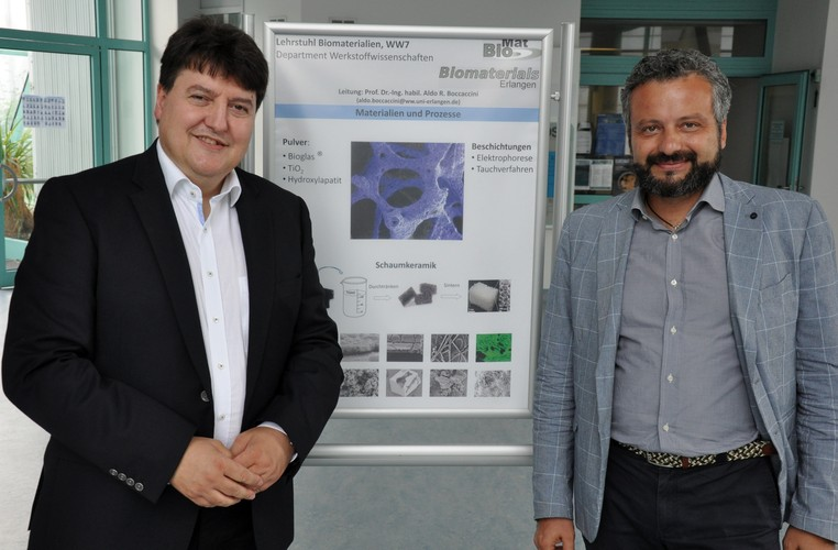 "Towards entry ""Prof. Gianluca Ciardelli visits the Institute of Biomaterials"""