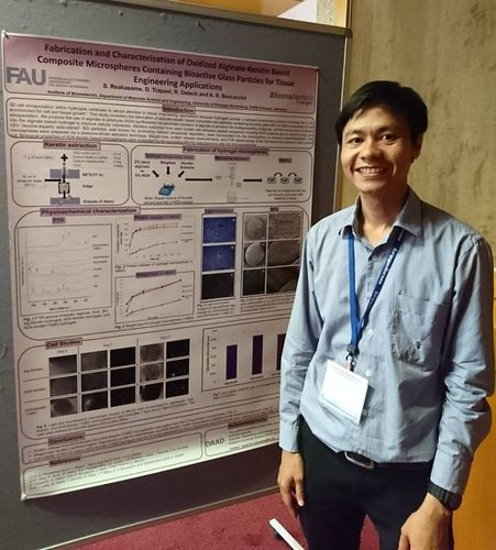 "Towards entry ""Supachai Reakasame received best poster presentation prize at Biofabrication conference in Austria"""