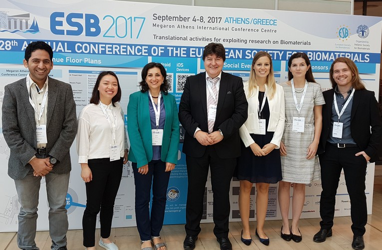 "Towards entry ""28th Annual Conference of the European Society for Biomaterials (ESB 2017) in Athens"""
