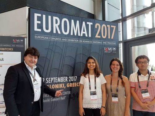 "Towards entry ""EUROMAT 2017 conference in Thessaloniki"""