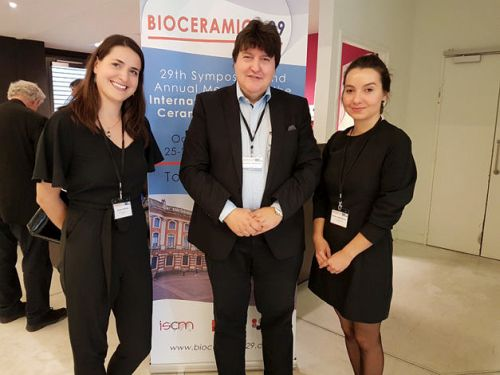 "Towards entry ""Prof. Boccaccini: Plenary speaker at Bioceramics 29 conference in Toulouse, France"""