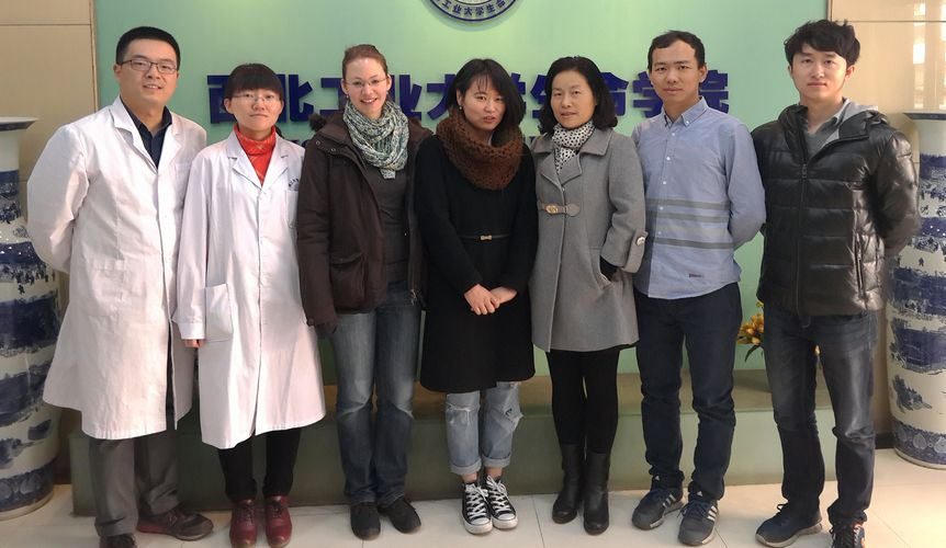 "Towards entry ""First exchange visit to Northwestern Polytechnical University in China"""