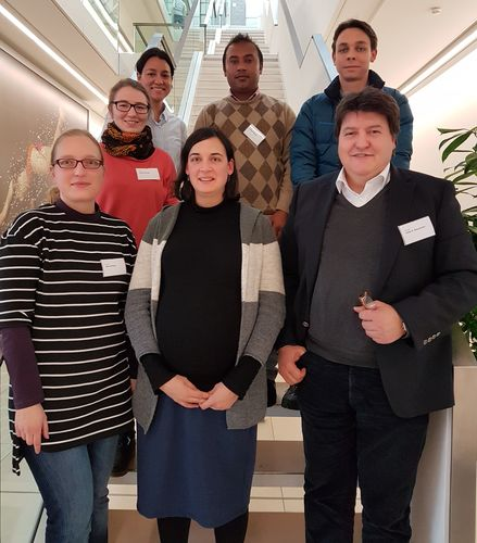 "Towards entry ""Halle-Jena-Erlangen collaboration on bioactive glass-ceramics: DFG project kick-off meeting in Halle"""
