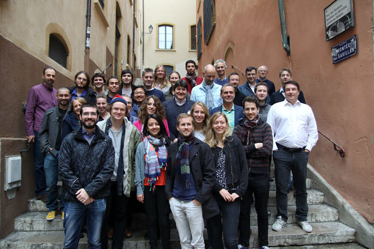 "Towards entry ""1st NanoHeal Network Meeting and NanoHeal School in Lyon"""