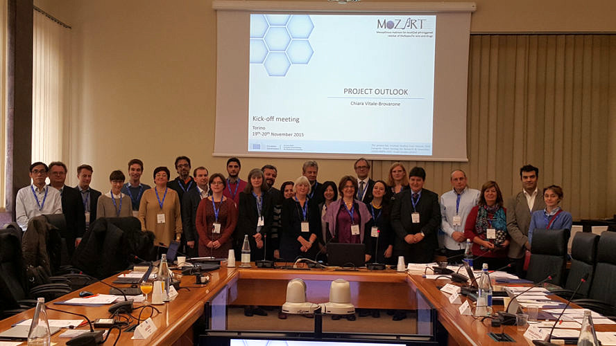 "Towards entry ""Kick -Off meeting of new EU project ""MOZART"" in Turin, Italy"""