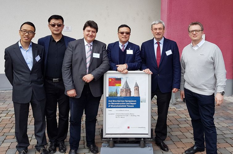"Towards entry ""Prof. Boccaccini, invited speaker at 2nd Sino-German Symposium on Reconstruction and Repair of Musculoskeletal Tissues"""