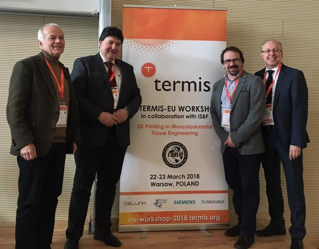 "Towards entry ""Prof. Boccaccini invited speaker at TERMIS-EU Workshop on 3D Printing in Warsaw, Poland"""