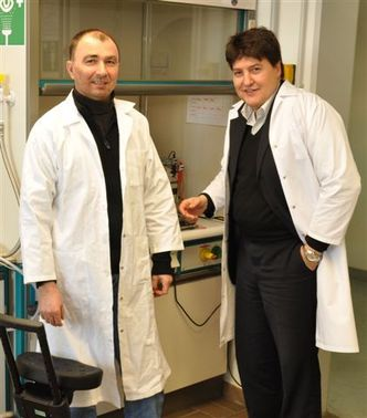 "Towards entry ""COST Action ""NAMABIO"": Dr T. Moskalewicz visits the Institute of Biomaterials"""