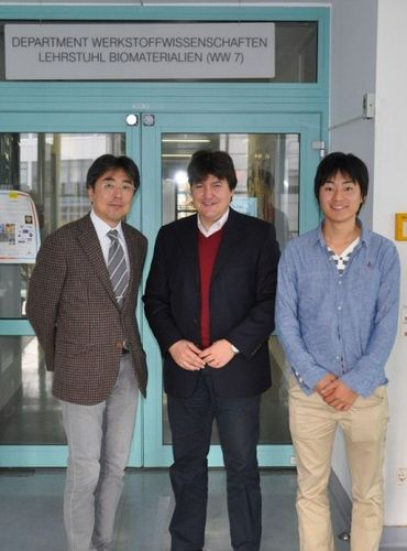 "Towards entry ""Visit from Nagoya Institute of Technology"""