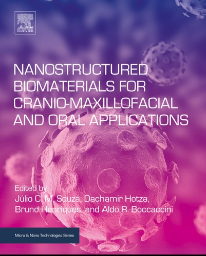 "Buchcover: ""Nanostructured Biomaterials for Cranio-Maxillofacial and Oral Applications"""