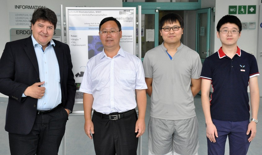 "Towards entry ""Visit from East China University of Science and Technology, Shanghai"""