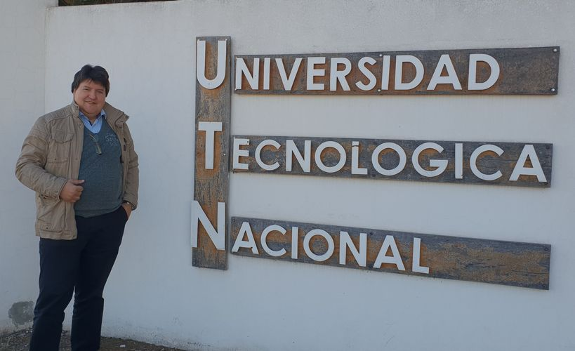 "Towards entry ""Prof. Boccaccini visited National Univ. of Technology (UTN) FR San Rafael, Argentina"""