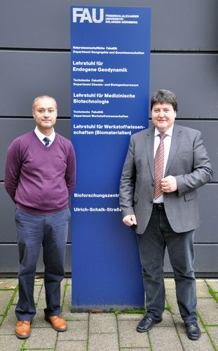 "Towards entry ""Prof. Ifty Ahmed, University of Nottingham, UK, visits the Institute of Biomaterials"""