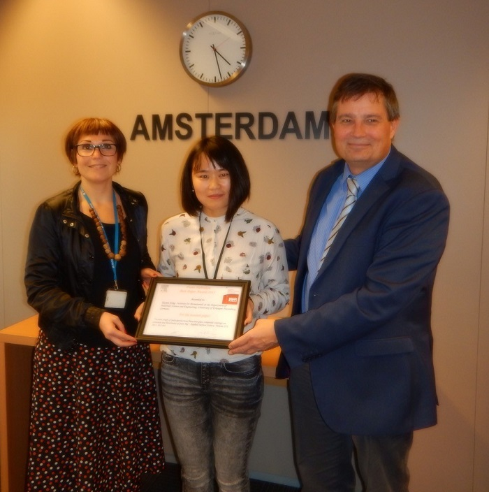 "Towards entry ""Yuyun Yang receives Frans Habraken Best Paper Award in Amsterdam"""
