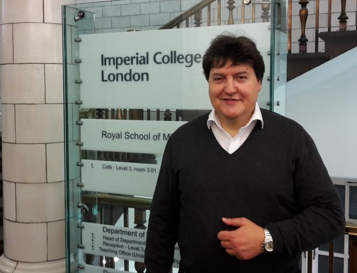 Prof. Boccaccini zu Besuch am Imperial College London