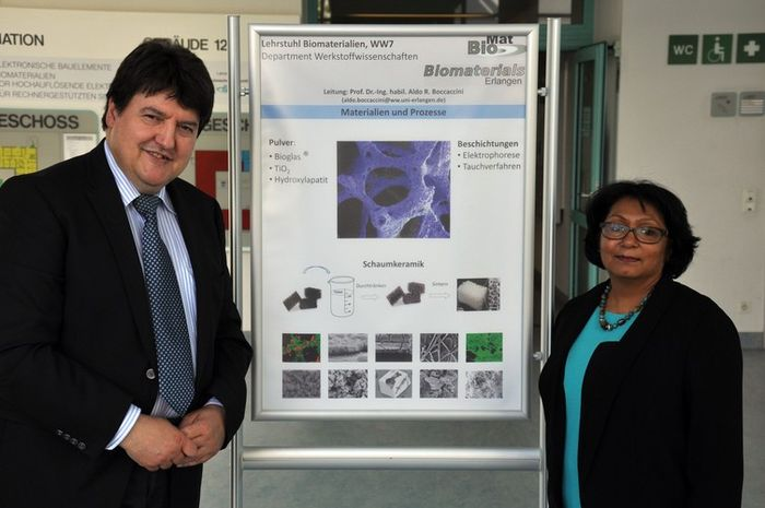 "Towards entry ""Dr. Sanjukta Deb (King's College London) visits the Institute of Biomaterials"""