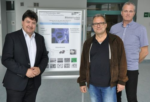 "Towards entry ""Visit of Prof. Bernhard Hensel (Max Schaldach Endowed Professorship for Biomedical Technology)"""