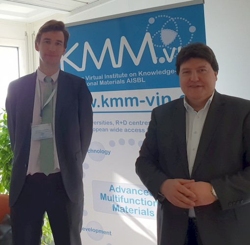 "Towards entry ""Prof. Boccaccini reelected Working Group ""Biomaterials"" coordinator of KMM-VIN"""