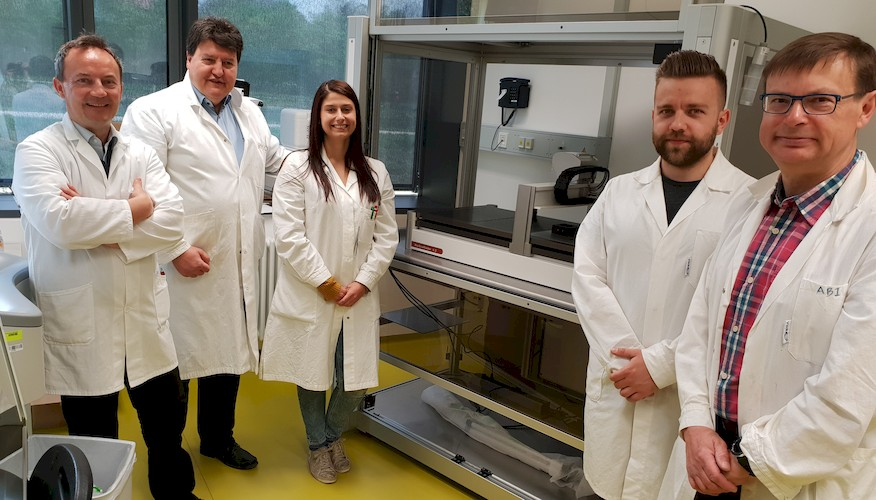 "Towards entry ""New Bioprinter (BioScaffolder) installed at the Institute of Biomaterials"""