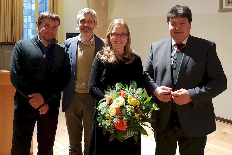 "Towards entry ""Prof. Boccaccini attends inaugural lecture of Prof. Delia Brauer at University of Jena"""