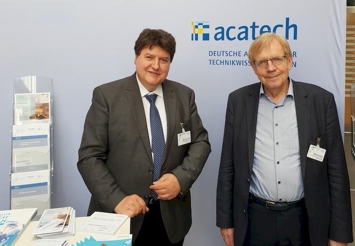 "Towards entry ""Prof. Boccaccini at acatech ""Akademietag 2019"" in Hamburg"""