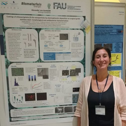 "Towards entry ""Best Poster Award for Prof. Josefina Ballarre at international symposium in Croatia"""