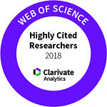 Highly Cited Researcher 2018 badge