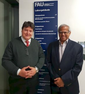 "Towards entry ""Prof. Rajendra K. Bordia, Clemson University, USA, visits the Institute of Biomaterials"""