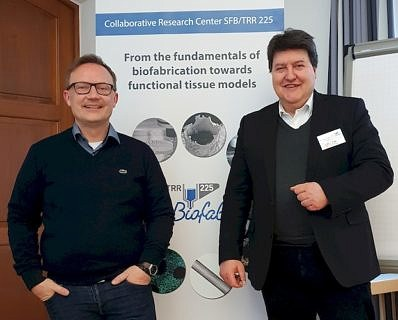 "Towards entry ""Progress meeting of TRR/SFB 225 ""Biofabrication"" in Kloster Banz"""