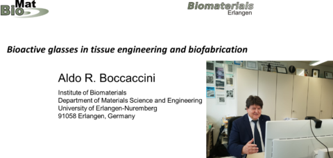 "Towards entry ""Prof. Boccaccini: Invited speaker at ACerS-MRS Bioceramics Virtual Workshop"""